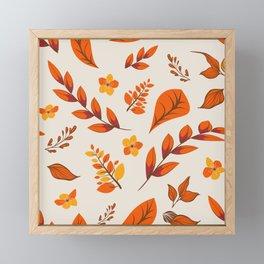 Flower Design Series 11 Framed Mini Art Print