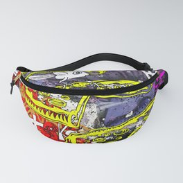 Pizza Fly Fanny Pack