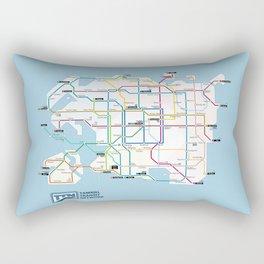Tamriel Routemap Rectangular Pillow