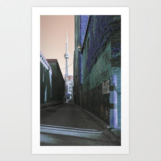 shining spire... Art Print