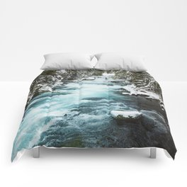 The Wild McKenzie River - Nature Photography Comforters
