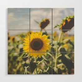 Allora | Sunflowers Wood Wall Art