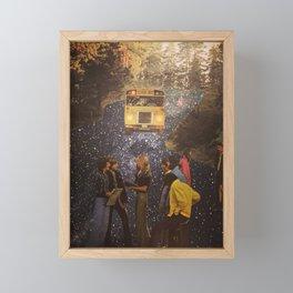 Bus Stop Framed Mini Art Print