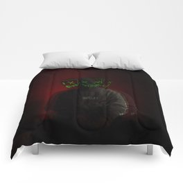 buzz night #1 Comforters