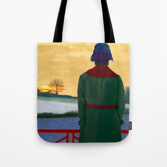 Can Spring be far behind? Tote Bag