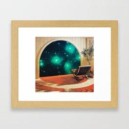 'Future Interiors' Framed Art Print
