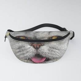 Funny Furry Cat Fanny Pack