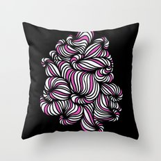 All over the place Throw Pillow