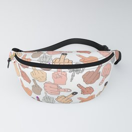 Middle Fingers Fanny Pack