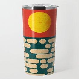 Sun Over The Sea - Afternoon Travel Mug