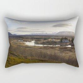 Ísland 2 Rectangular Pillow
