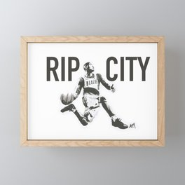 Blazers Framed Mini Art Print