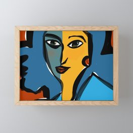 Staring at Matisse Framed Mini Art Print