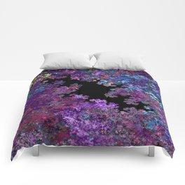 Flora-Purple Comforters