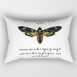 Among the whisperings and the champagne and the stars Rectangular Pillow