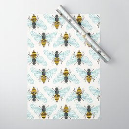 Honey Bee Wrapping Paper