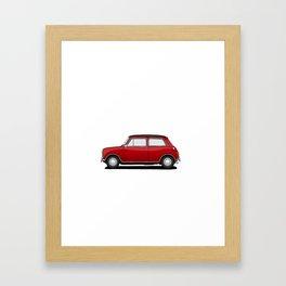 Mini Cooper Framed Art Print