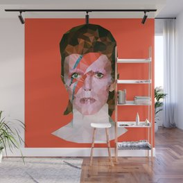 Chamaleon Bowie Wall Mural