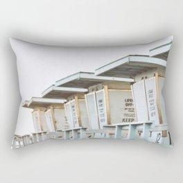 Off Duty Rectangular Pillow