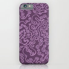 Wiggly Bubbles - Purple iPhone 6s Slim Case