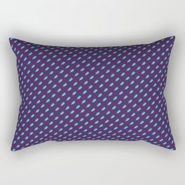 Ice Cream Pattern - Night Rectangular Pillow