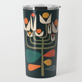 Retro botany Travel Mug