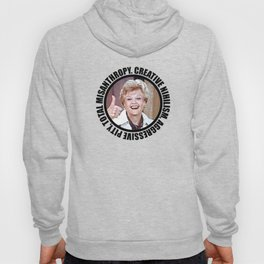 Nihilistic quotes by Jessica Fletcher: Creative Nihilism, Aggressive Pity, Total Misantropy Hoody