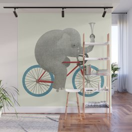 Ride (colour option) Wall Mural