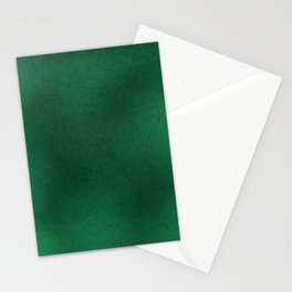 Color gradient and texture 62 dark green Stationery Cards