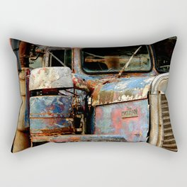 Old Truckers Never Die Rectangular Pillow
