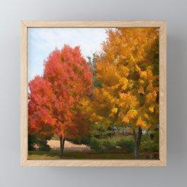 Welcome Fall Framed Mini Art Print