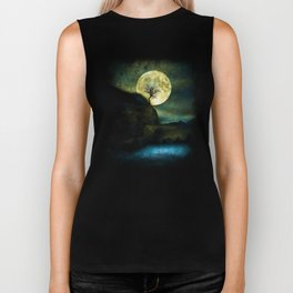 The Moon and the Tree. Biker Tank