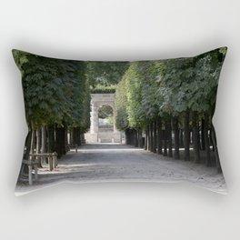 Tuileries Garden Rectangular Pillow