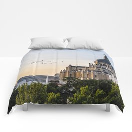 Almudena cathedral of Madrid Comforters