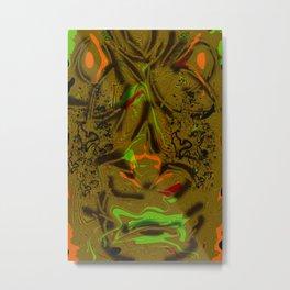Twisted Anger Metal Print