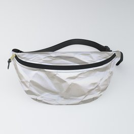 Crumpled Paper Fanny Pack