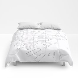 Composition #9 2016 Comforters