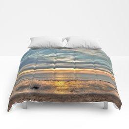 Sunset on the Llyn Peninsula Comforters
