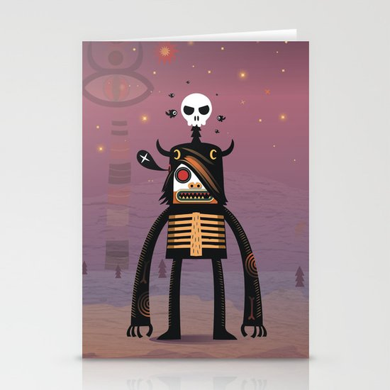 Moon catcher brothers  Stationery Cards