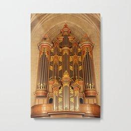 Flentrop Organ Metal Print