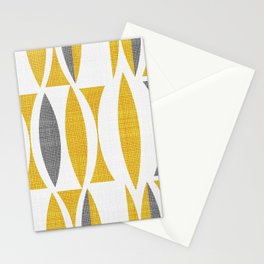 Seventies in Mustard Stationery Cards