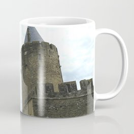 Curtain walls of the City of Carcassonne Coffee Mug