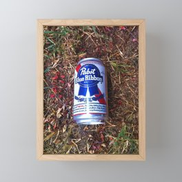 PBR Petals Framed Mini Art Print