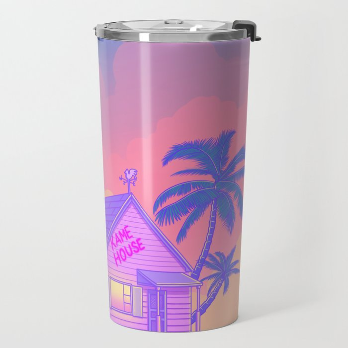 80s Kame House Travel Mug