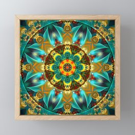 Mandalas from the Depth of Love 26 Framed Mini Art Print
