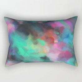 Love of Life Abstract Art Rectangular Pillow