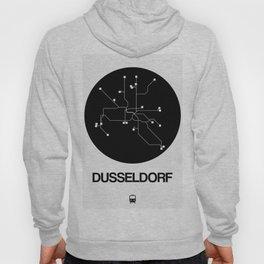 Dusseldorf Black Subway Map Hoody