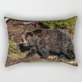 fluffy wanderer Rectangular Pillow