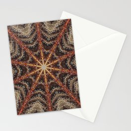 Crystal Web Stationery Cards