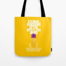 Eternal Sunshine Of The Spotless Mind Movie Poster Tote Bag